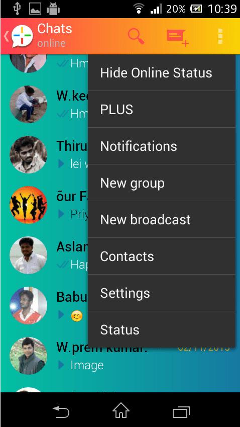 Descripción de WhatsApp Plus
