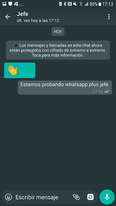 WhatsApp Plus 7