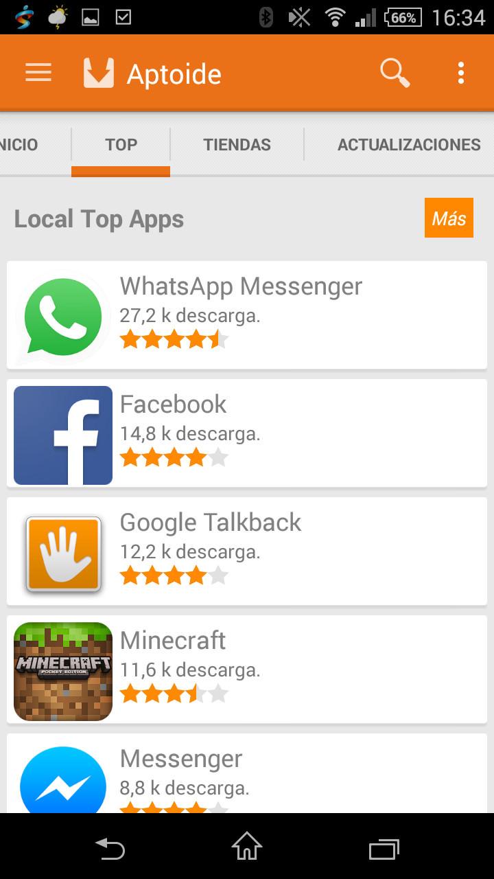 descargar aptoide gratis para iphone