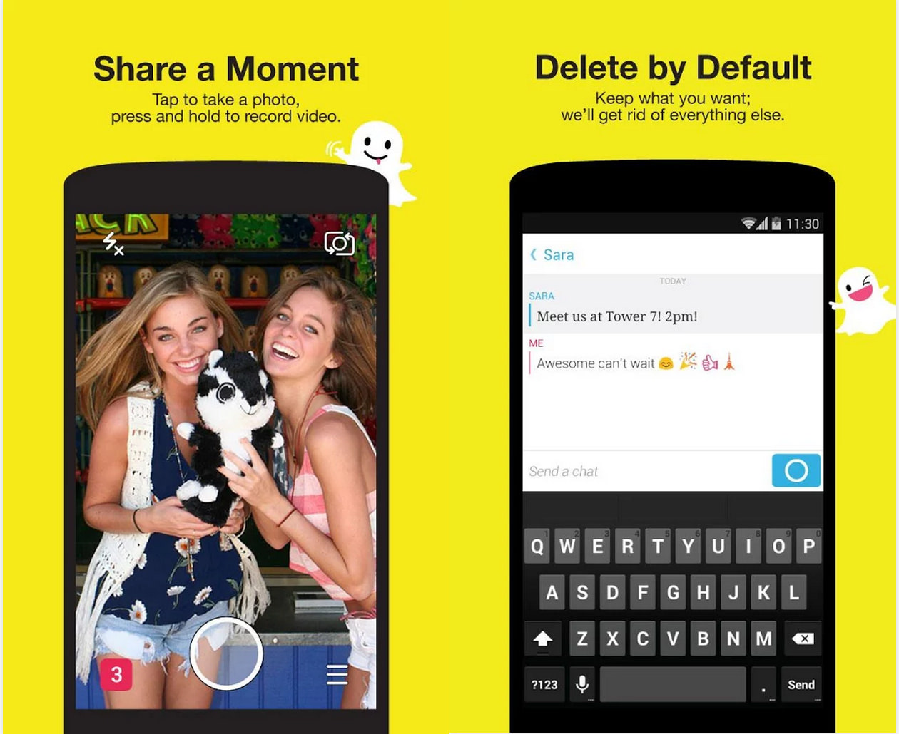 Snapchat for PC | Download & Play Snapchat on PC | Andy