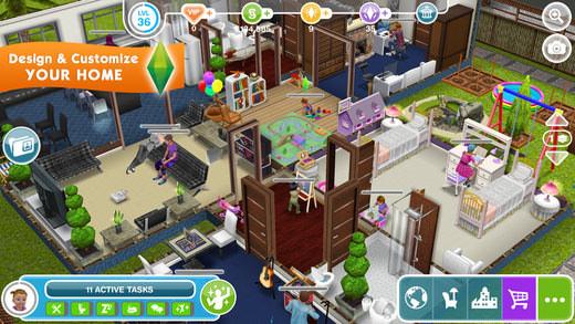 descargar los sims free play para android