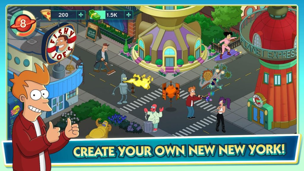 Futurama: Worlds of Tomorrow 1