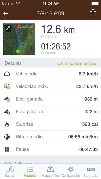 Runtastic Mountain Bike 2