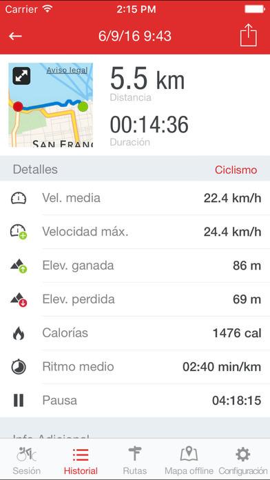 Runtastic Road Bike 2