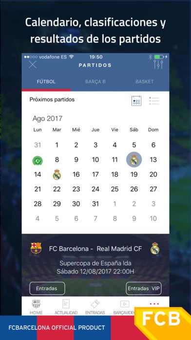 FC Barcelona Official App 2