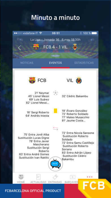 FC Barcelona Official App 3
