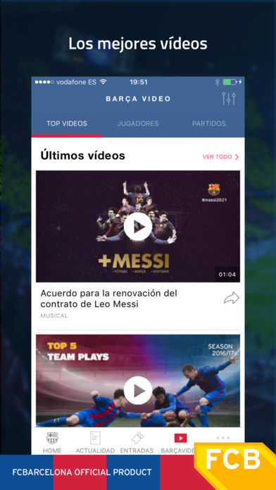 FC Barcelona Official App 4