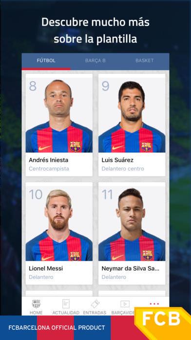 FC Barcelona Official App 5