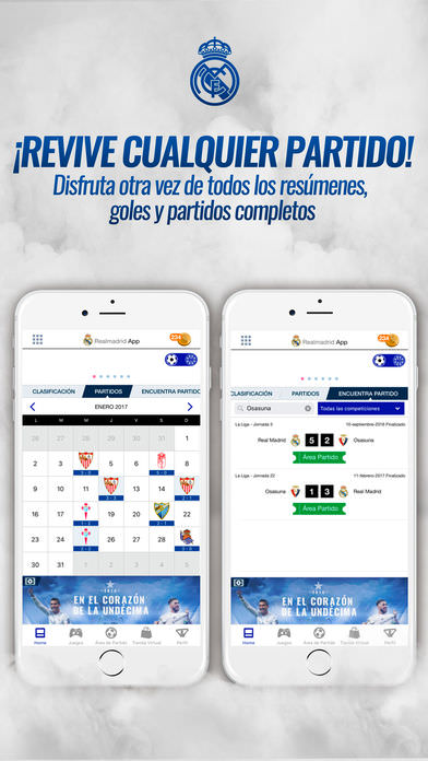 Real Madrid App 2