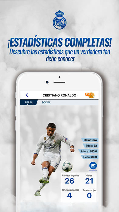Real Madrid App 3
