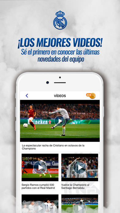 Real Madrid App 4