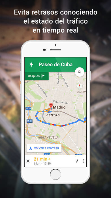 google maps para iphone gratis