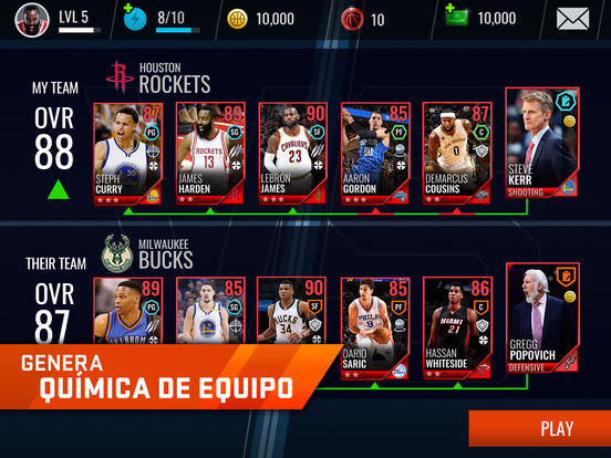 NBA Live Mobile Baloncesto 4