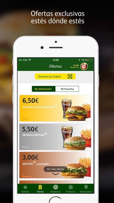 McDonald's España – Ofertas 3