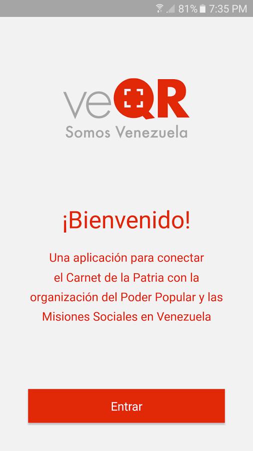 veQR – Somos Venezuela 1