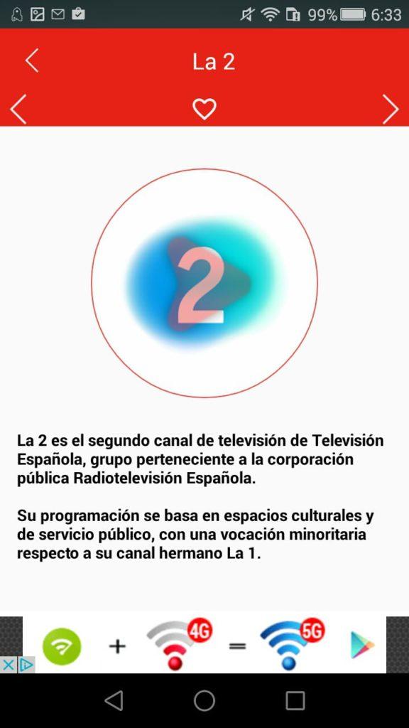 España TDT Android 3
