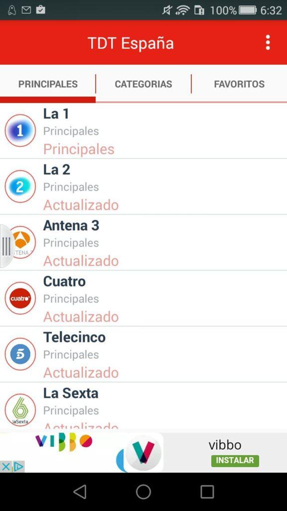 España TDT Android 2