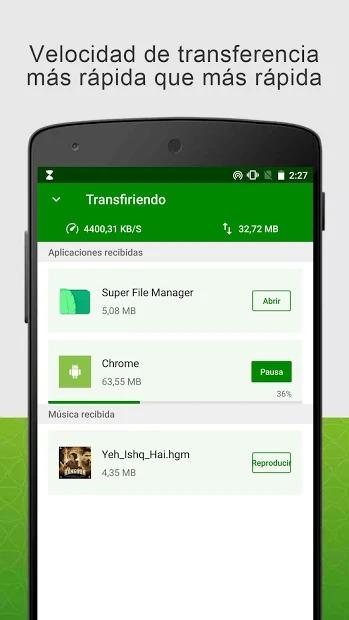 descargar xender para android gratis