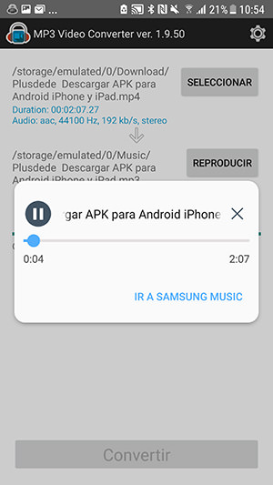 descargar gratis conversor de audio mp4 a mp3