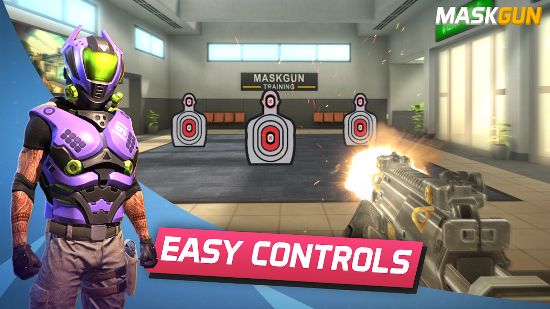 MaskGun® FPS Multijugador: Shooter en línea gratis 1