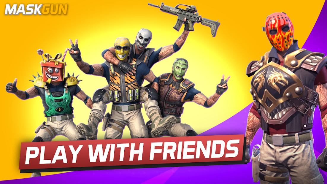 MaskGun® FPS Multijugador: Shooter en línea gratis 4