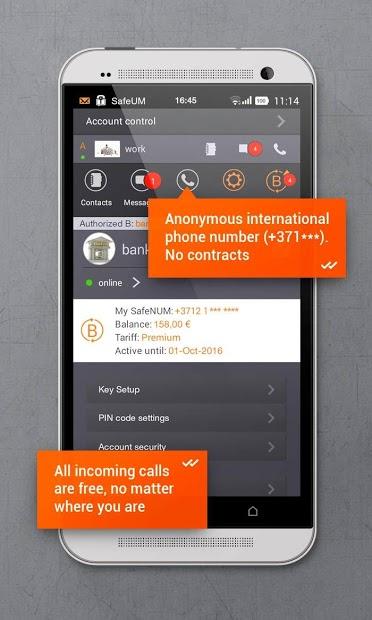 Secure messenger SafeUM 4