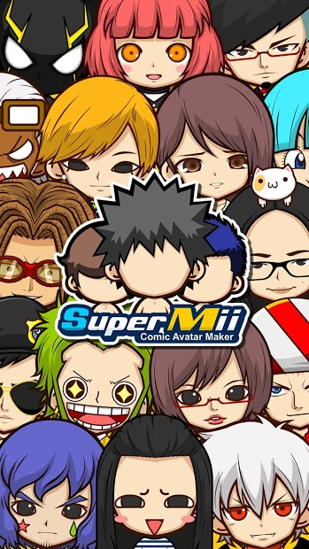SuperMii- Make Comic Sticker 1