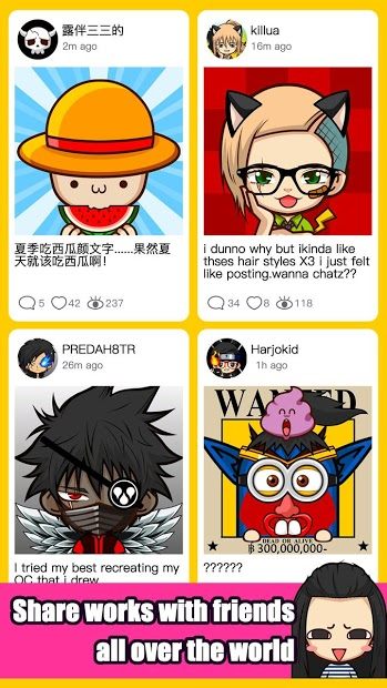 SuperMii- Make Comic Sticker 3