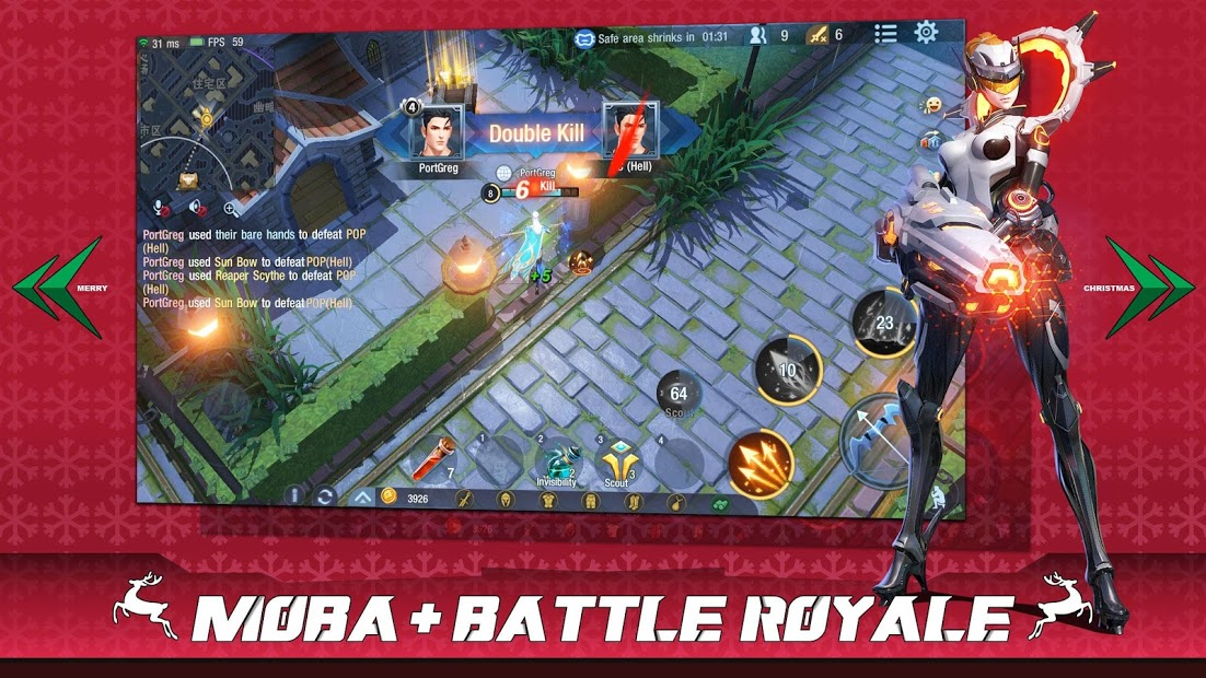 Survival Heroes - MOBA Battle Royale 1