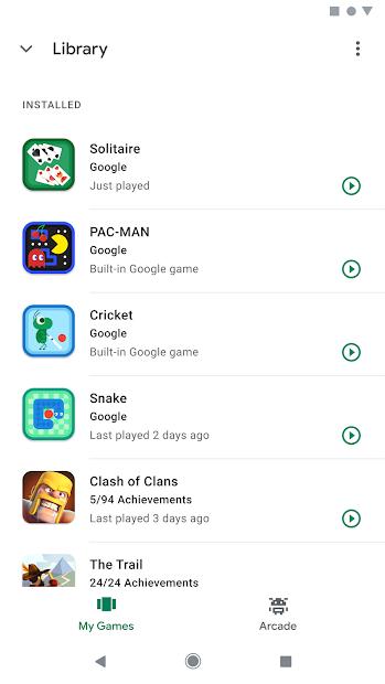 Google Play Juegos 4