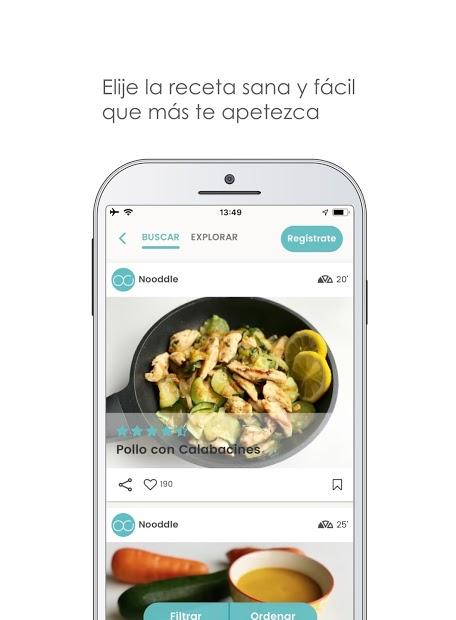 Nooddle App – Recetas sanas 3