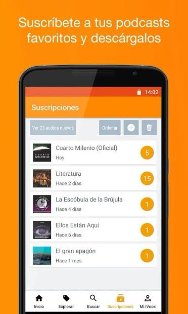 Podcast & Radio iVoox 2.242 para Android   Descargar APK Gratis