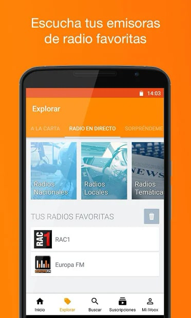 Podcast & Radio iVoox 2.242 para Android e iOS | Descargar Gratis