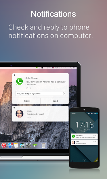 AirDroid: Acceso remoto 2