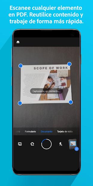 Adobe Scan: digitalizador de PDF, OCR 1