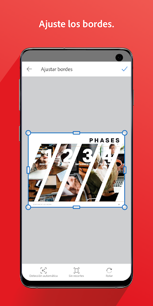Adobe Scan: digitalizador de PDF, OCR 4