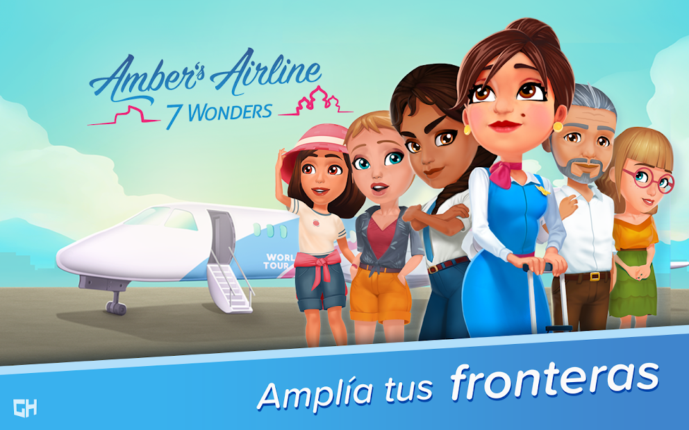 Amber's Airline – 7 Wonders 1
