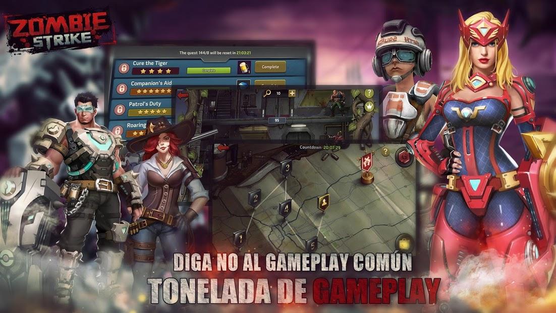 Ataque Zombi: La Última Guerra de Batalla Inactiva 5