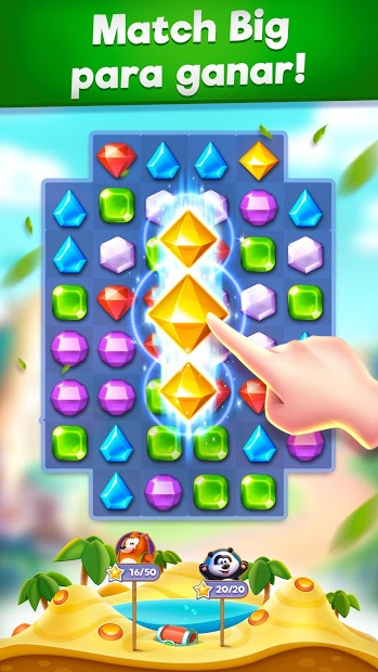 Bling Crush – Jewels & Gems Match 3 Puzzle Game 2