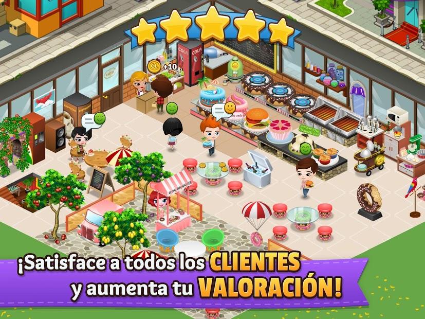 Cafeland: Juego de Restaurante 5