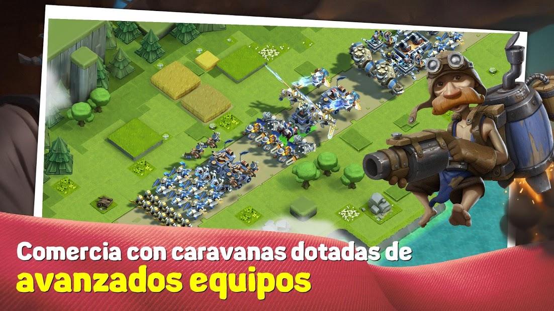 Caravan War: Defensa de torres y héroes 4