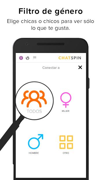 Chatspin: chat de video al azar con desconocidos 4