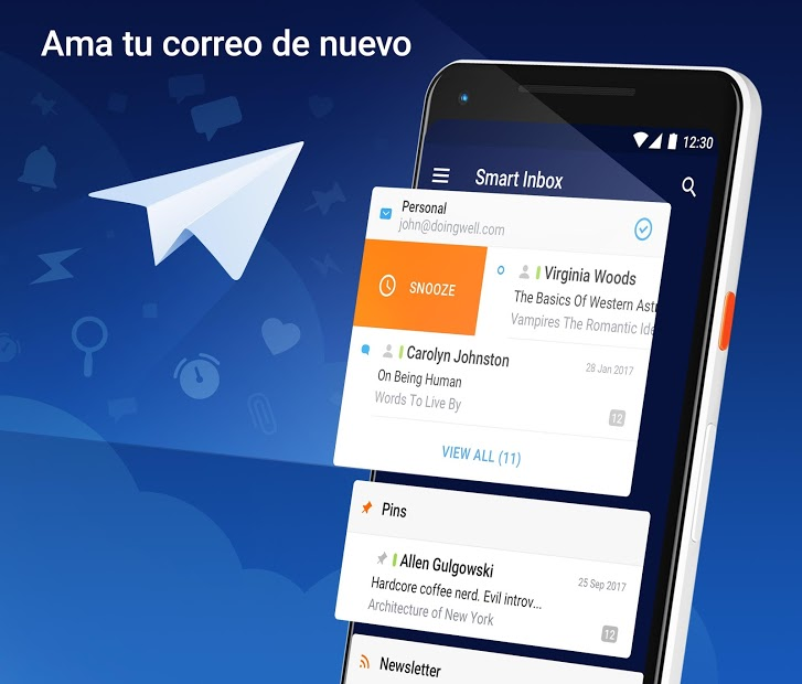 Spark – App de Correo de Readdle 1