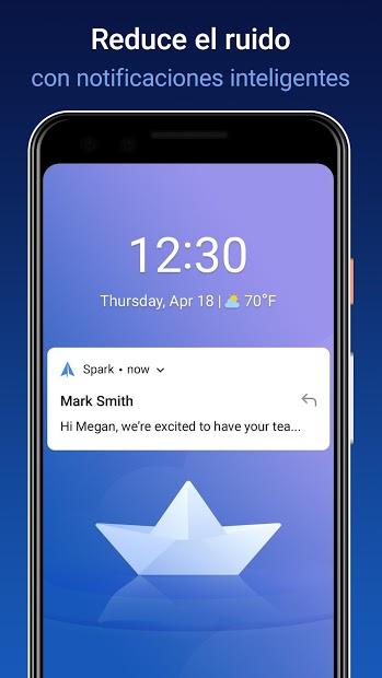 Spark – App de Correo de Readdle 4