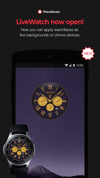 WatchMaster - Watch Face 3