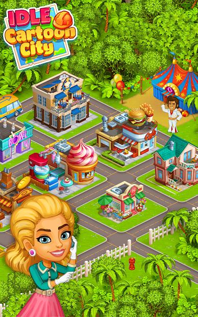 Cartoon city: granja y ciudad 1