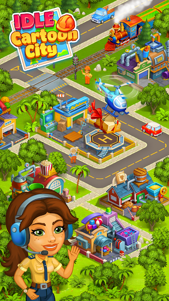 Cartoon city: granja y ciudad 2