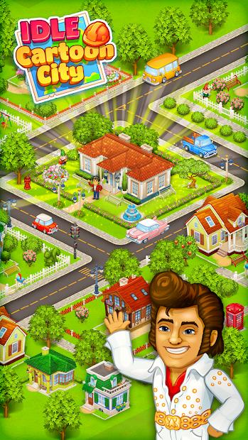 Cartoon city: granja y ciudad 4