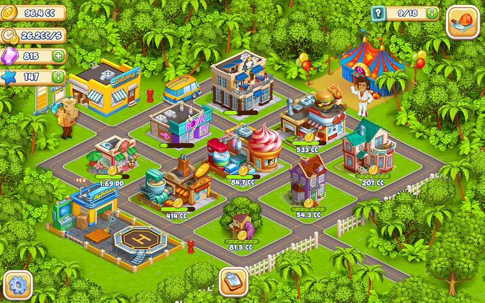 Cartoon city: granja y ciudad 5
