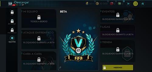 FIFA Fútbol: Beta 2